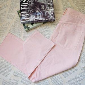 NWOT MADEWELL Garment Dyed Raw Hem High Rise Jeans